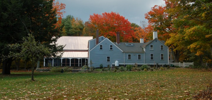 Pam's House with Fall Foliage by ilovebutter, on Flickr. CC Image, Some rights reserved